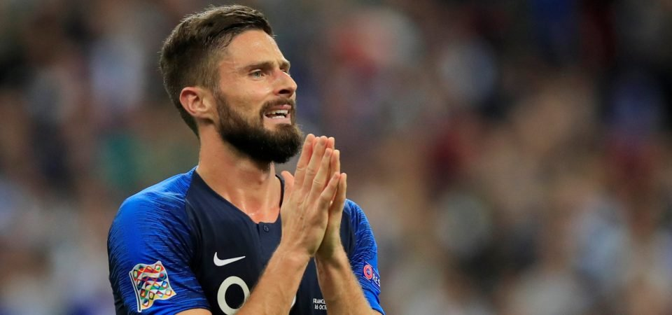 Revealed: 71% of Celtic fans want 2019 move for Giroud