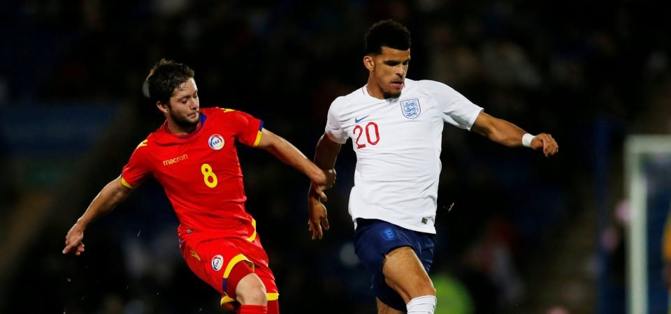 Solanke gets on the scoresheet for England Under-21s, Liverpool fans react