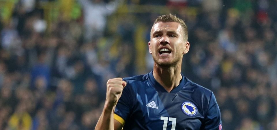 West Ham offered chance to sign Edin Dzeko