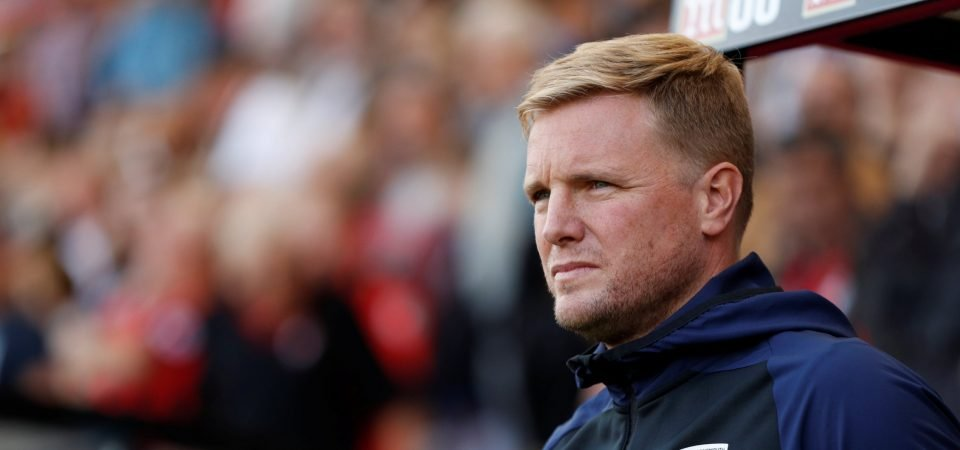 Bournemouth fans react after Eddie Howe is named manager of the month for October