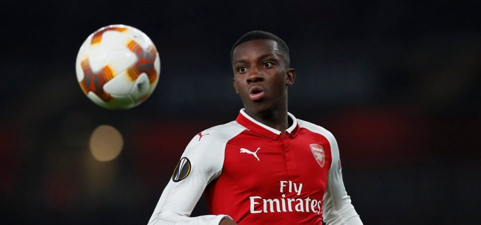 Emery must keep Nketiah at Arsenal after Welbeck's release