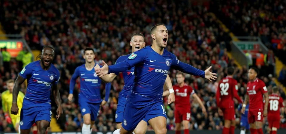 """He is more an individual than a leader"" - Sarri's blunt swipe at Hazard"