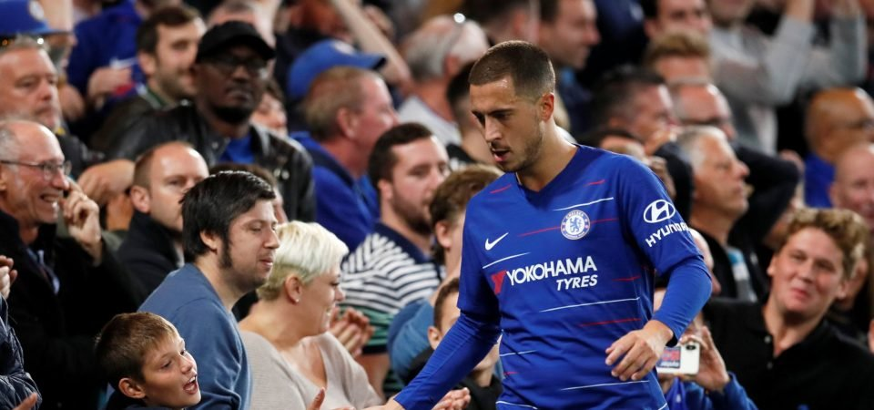 Liverpool fans put rivalry aside to hail Eden Hazard