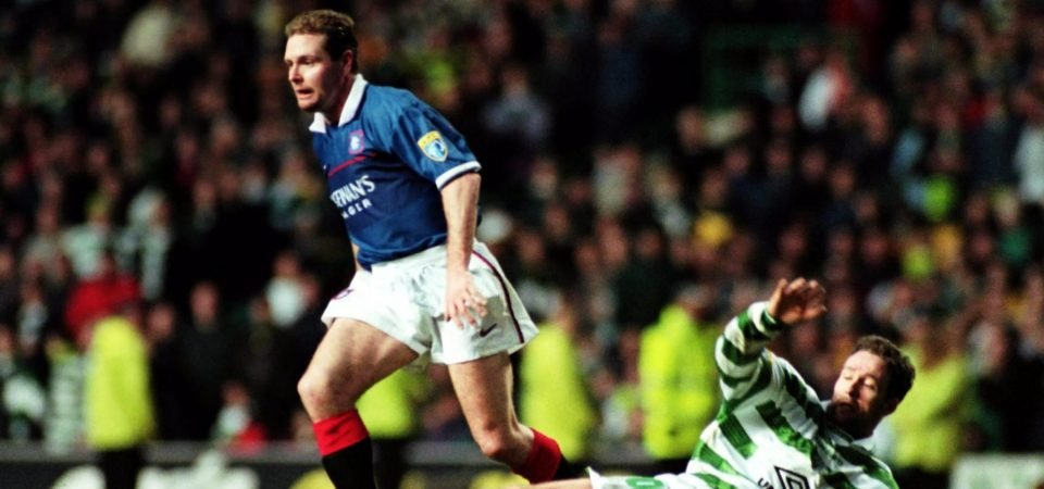 Rangers fans react as Gascoigne hits out at Scottish FA