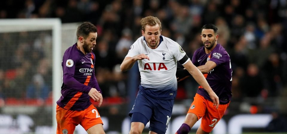 Chelsea fans ridicule Kane as he fails to make an impact against Manchester City