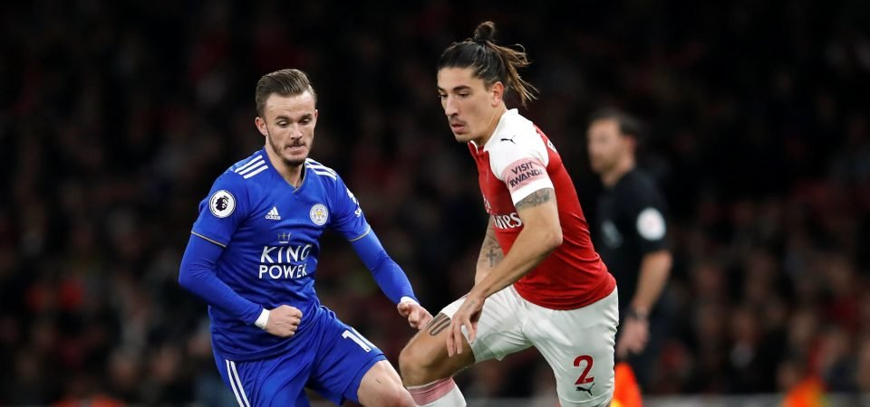 Bellerin commits to the role: Arsenal star's tattoo reflects his new squad number
