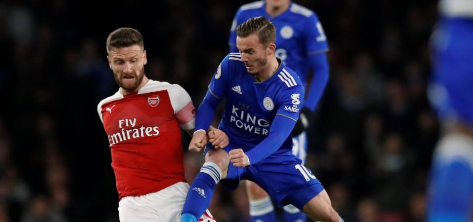 Leicester City fans react to James Maddison's awful dive against Brighton