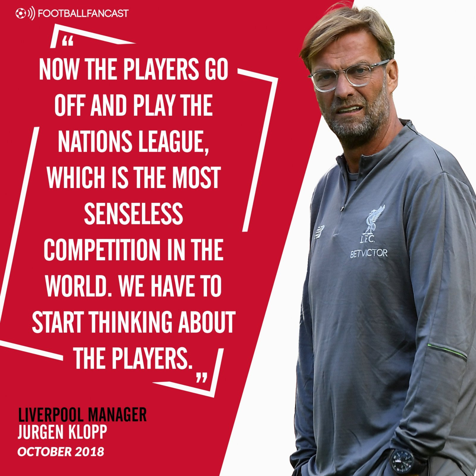 Jurgen Klopp's quotes on the Nations League