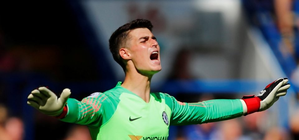 Chelsea fans think Kepa is starting to show that he was worth £71m price tag