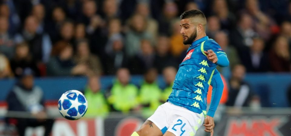 No deal: Liverpool will not be moving for Lorenzo Insigne this summer