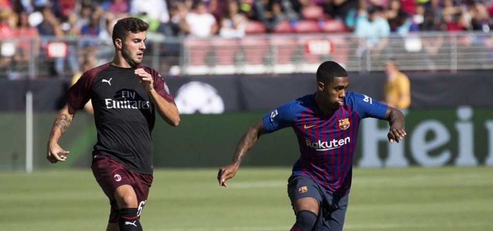 Arsenal eye Barcelona's Malcom in January loan swoop