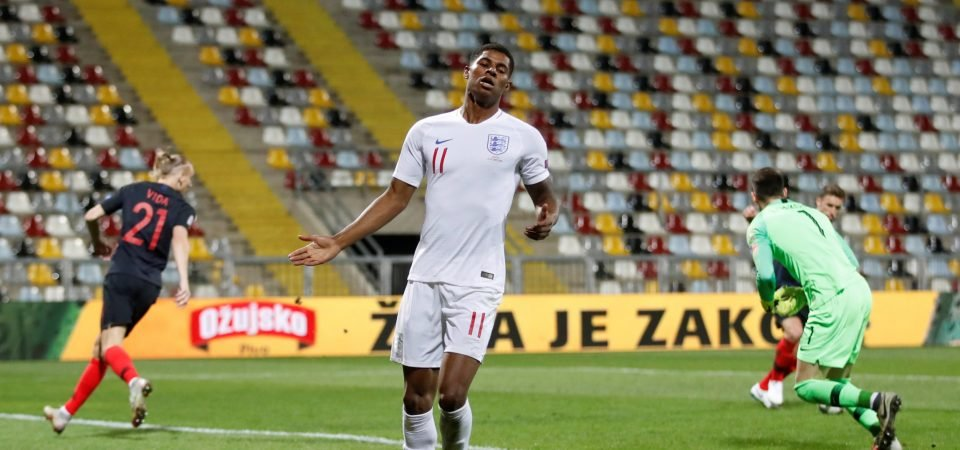 Manchester United fans react to Marcus Rashford's awful night for England