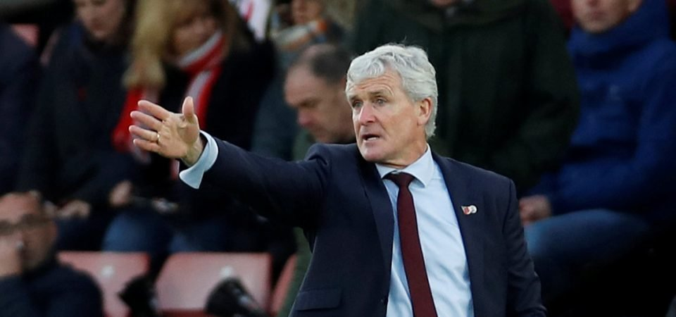 Revealed: 87% of Southampton fans have lost faith in Mark Hughes