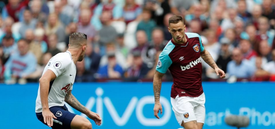 West Ham fans react to reports that Marko Arnautovic wants to leave the club