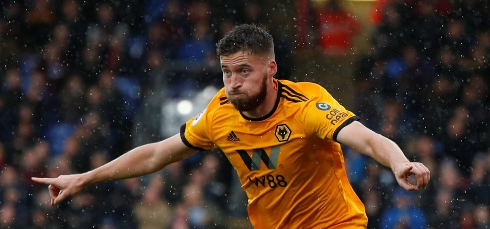Wolves fans are delighted with the form of Matt Doherty