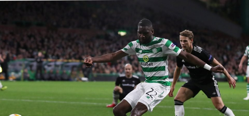Celtic fans stunned by Edouard's form