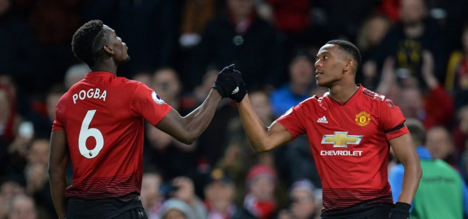 Man United fans happy Pogba, Shaw and Martial should be fit to face Liverpool