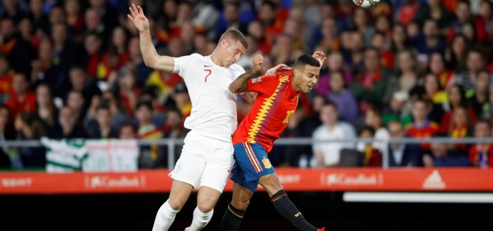 Chelsea fans divided over Barkley's performance for England against Spain