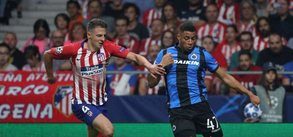 Napoli rival West Ham for Atletico Madrid outcast Santiago Arias