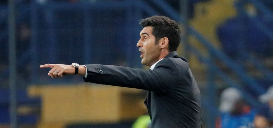 Aston Villa fans react to reported interest in Paulo Fonseca