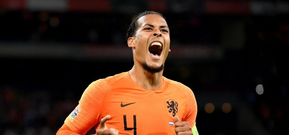 Liverpool fans want to see Virgil van Dijk as club captain after his goal vs Germany