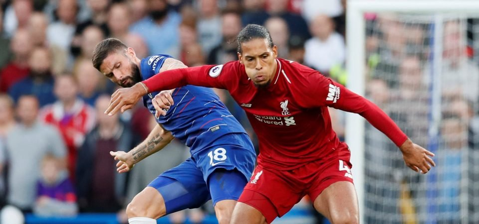 Virgil van Dijk as imperious as David Luiz in Chelsea and Liverpool's Saturday thriller