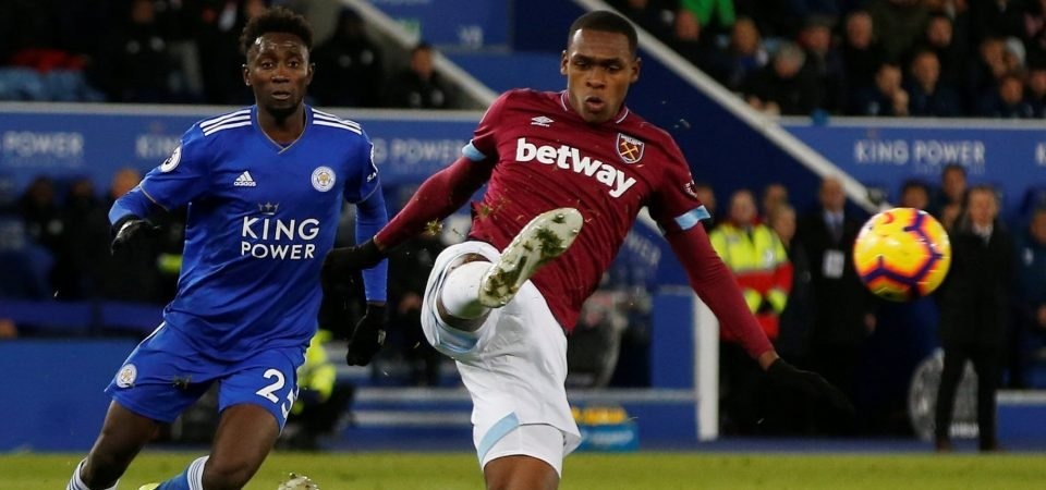 West Ham fans are delighted with Issa Diop's form