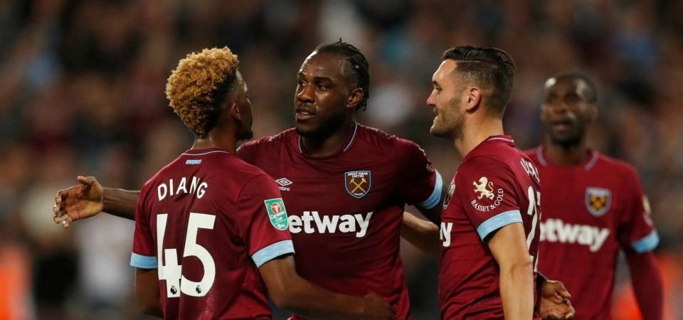 Revealed: 66% of West Ham fans want Michail Antonio sold