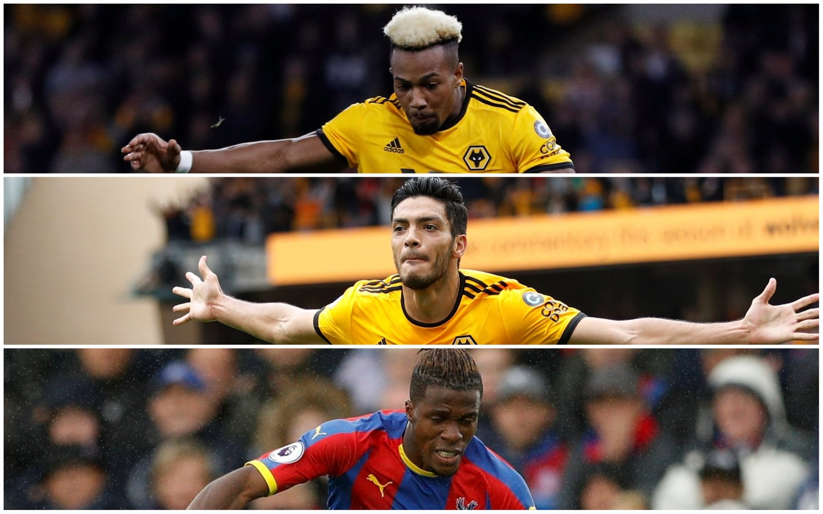 Palace-Wolves Combined XI - Forwards