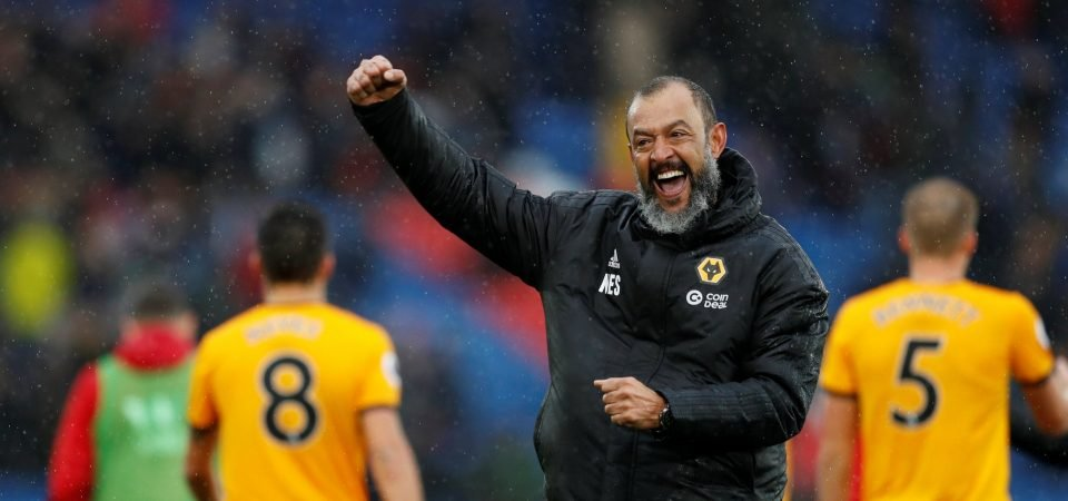 Wolves fans are delighted with Nuno Espirito Santo's Manager of the Month triumph