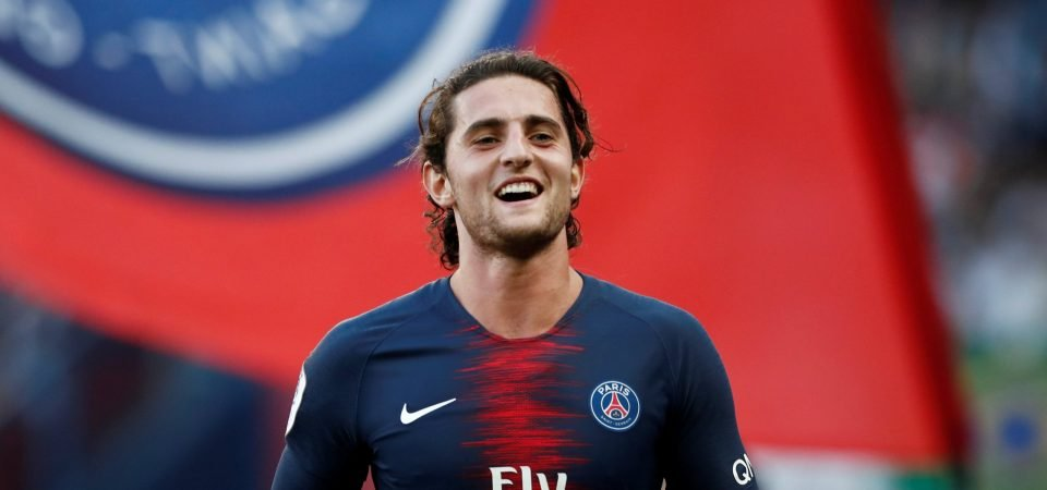 Not bothered: Liverpool fans aren't fussed about missing out on Adrien Rabiot