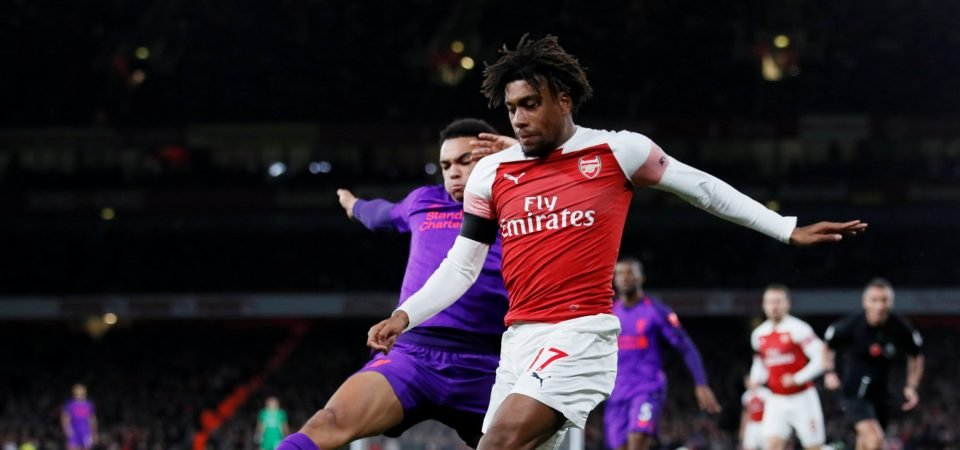 Alex Iwobi embarrasses Liverpool's Trent Alexander-Arnold with outrageous skill, Arsenal fans react