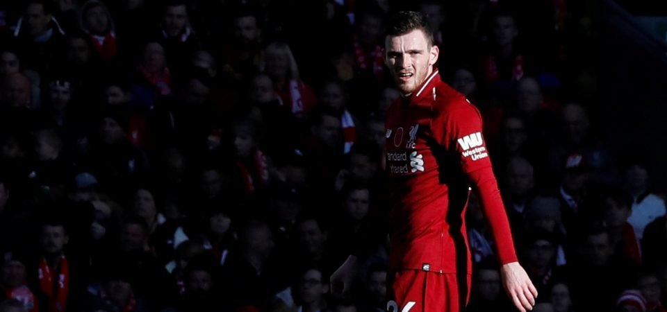 Andy Robertson continues to delight Liverpool supporters after Sunday win