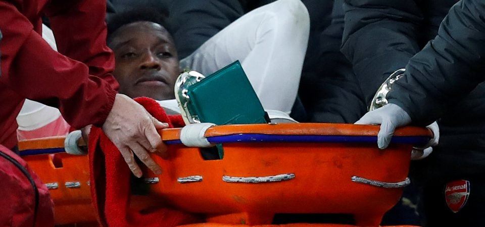 Arsenal fans react to Danny Welbeck's horrendous injury against Sporting
