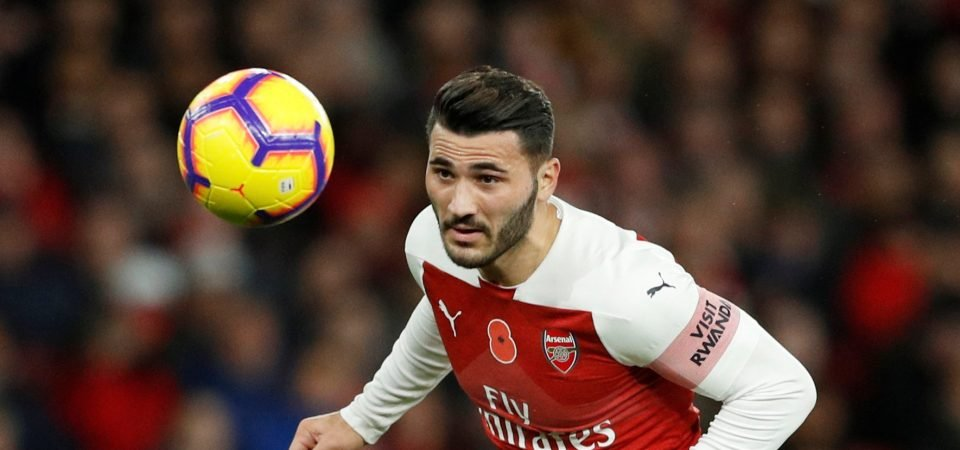 Sead Kolasinac is making a mess of this chance to save his Arsenal career