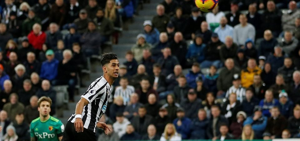 Newcastle United fans react to Ayoze Perez's performance against Watford