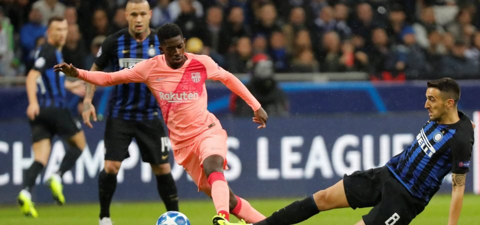 Liverpool target Ousmane Dembele proves he isn't worth huge fee in Barcelona draw