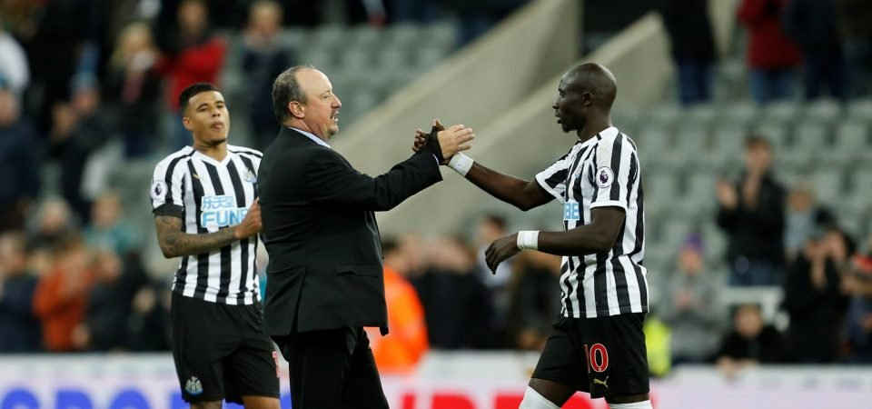 Newcastle fans react as Diame set for new contract