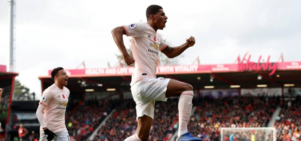 Revealed: Manchester United fans want Rashford to lead the line during Sunday's derby clash