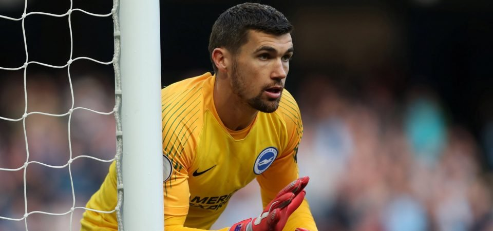Revealed: 65% of Tottenham fans don't want to sign Man United target Mathew Ryan