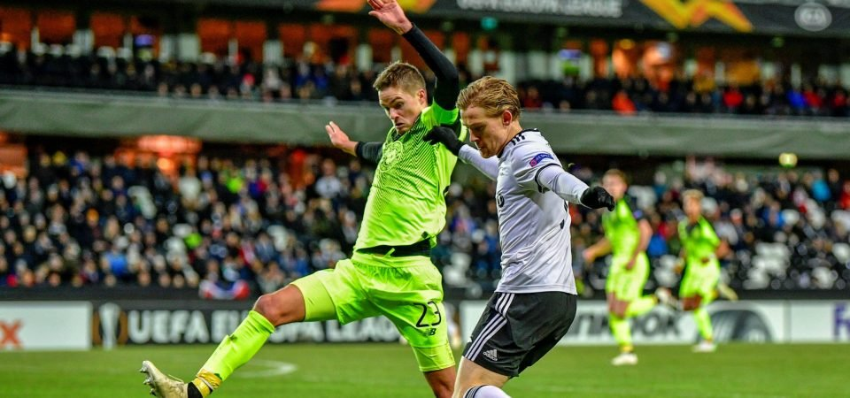 Mikael Lustig may have just convinced Brendan Rodgers that he has no Celtic future