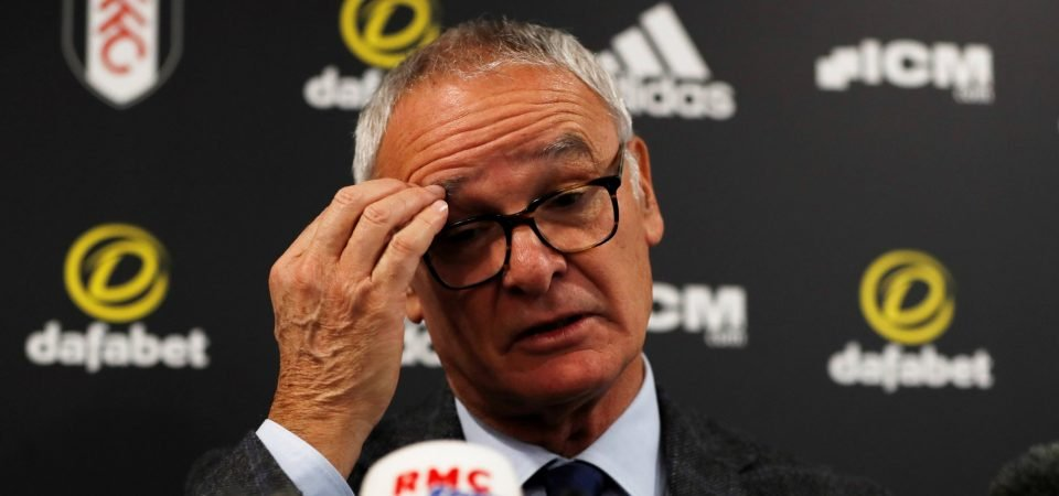 Fulham fans want Ranieri sacked after Manchester United defeat