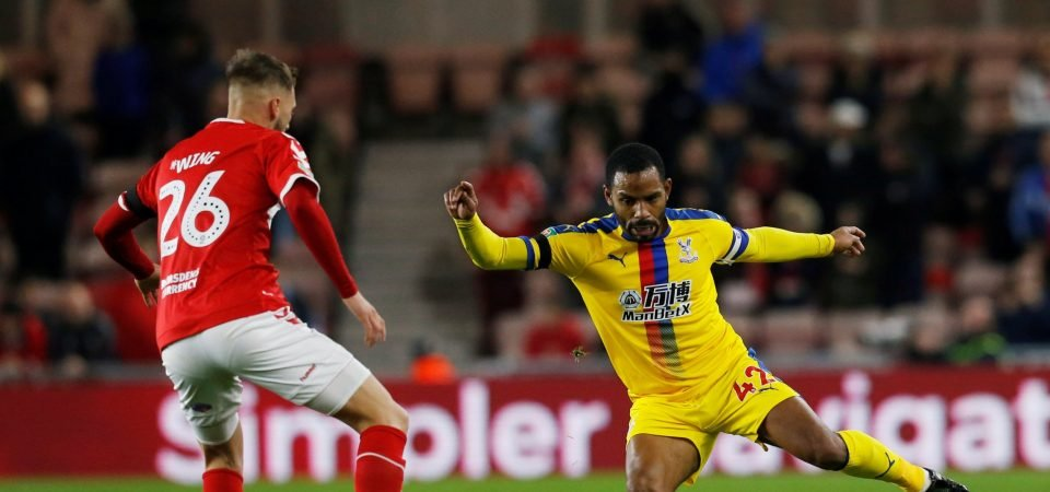 Crystal Palace fans have had it with Puncheon after Boro defeat