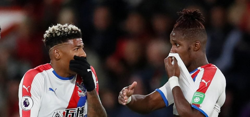 Forget Burnley: Zaha and van Aanholt hit the red carpet at Creed II's European premiere