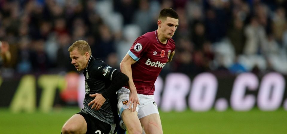 Revealed: 91% of West Ham fans want to hang on to Declan Rice at all costs