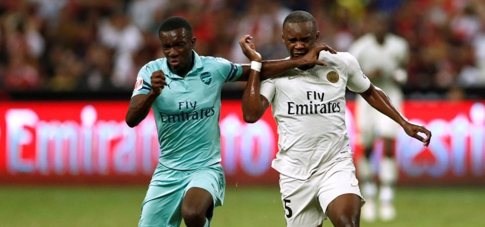 Arsenal fans excited by Emery's talk of Eddie Nketiah involvement