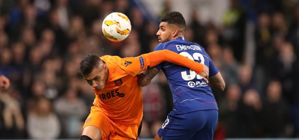 Chelsea fans want Emerson to play more often after performance versus PAOK