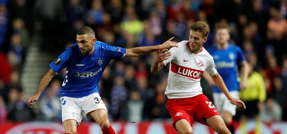 Rangers supporters loved the impact of Eros Grezda on Sunday