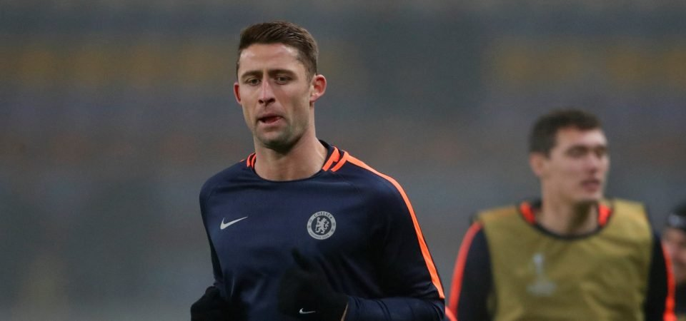 Crystal Palace should sign Gary Cahill on loan