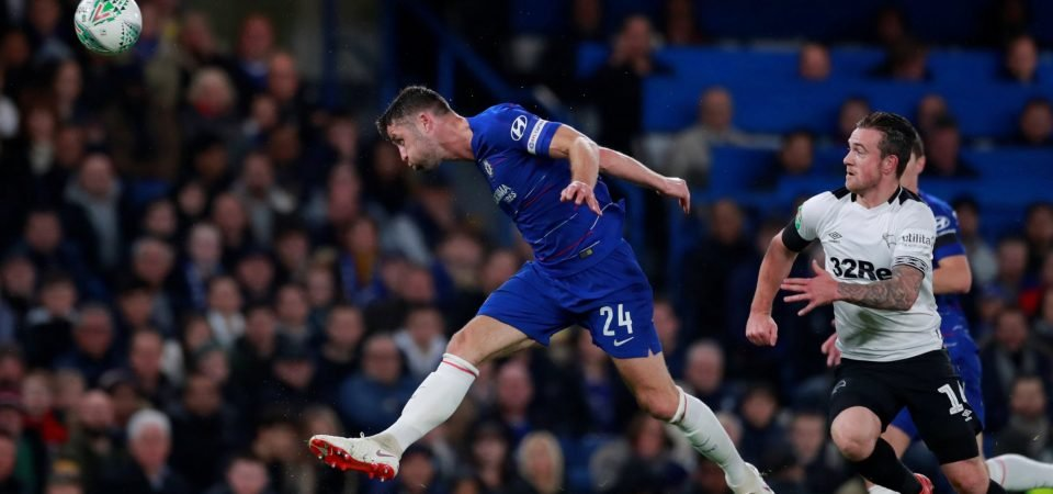 Chelsea fans slam Cahill following his rare outing against Derby County
